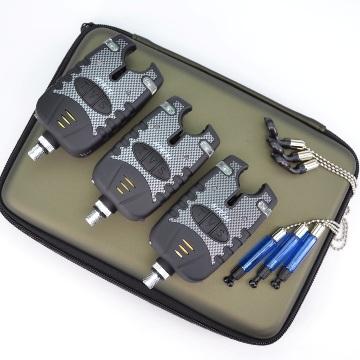 Электронный сигнализатор поклевки Hirisi 3 шт. (свет / звук)