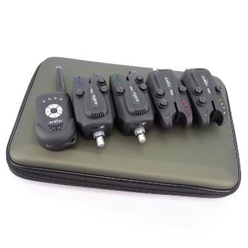 Электронный сигнализатор поклевки Lixada 4 шт. + пэйджер