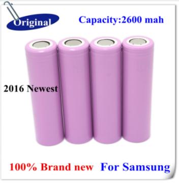 Литиевые аккумуляторы ICR 18650 емкость 2600мА/h 4 шт.