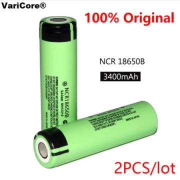 Литиевые аккумуляторы NCR 18650 емкость 3400мА/h