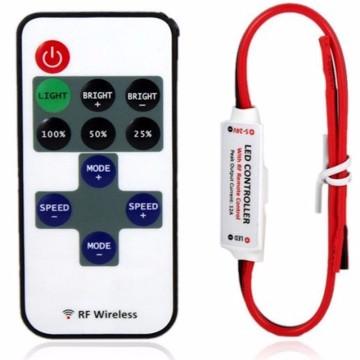 Светодиодный диммер с пультом управления от 5 до 24 вольт