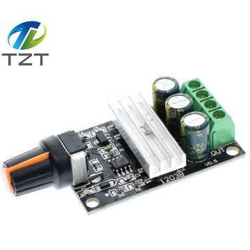ШИМ контроллер 6-28 вольт, 3 ампера