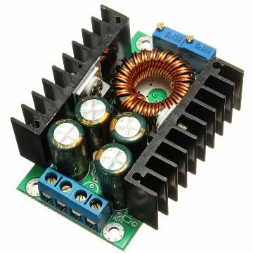 Понижающий преобразователь вх. 7-32V, вых. 0.8-28V ток 12А