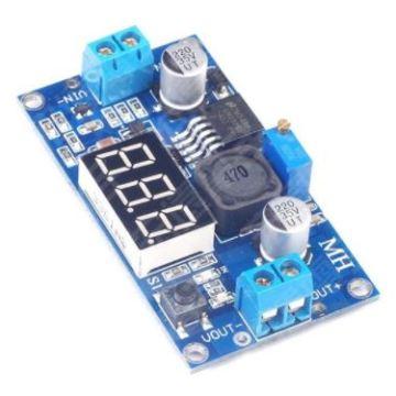 Понижающий преобразователь LM2596 вх. 4-40V, вых. 1,3-37V ток 2А