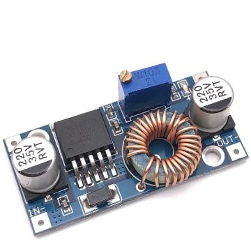 Понижающий преобразователь XL4005 вх. 5-32V, вых. 0.8-24V ток 5А