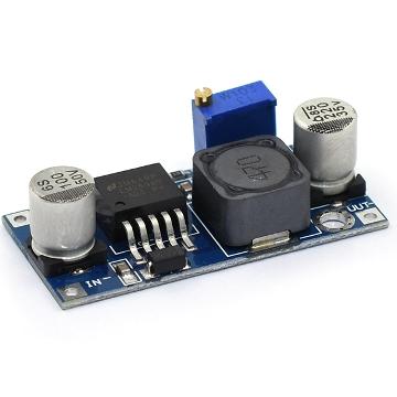 Понижающий преобразователь LM2596 вх. 3.2-40V, вых. 1,25-35V ток 3А