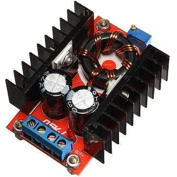 Преобразователь повышающий вх. 10-32V вых. 12-35V 150W