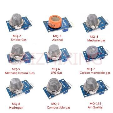 Набор 9 датчиков газов для Arduino