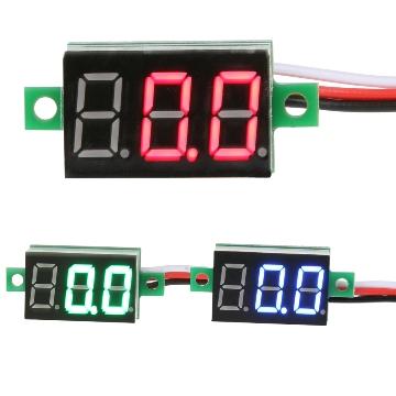 Цифровой вольтметр 2.5-30 В