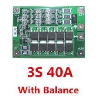 Плата BMS контроллер для аккумуляторов с баллансировкой