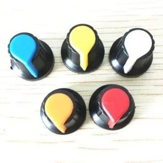 Ручки цветные для простого потенциометра
