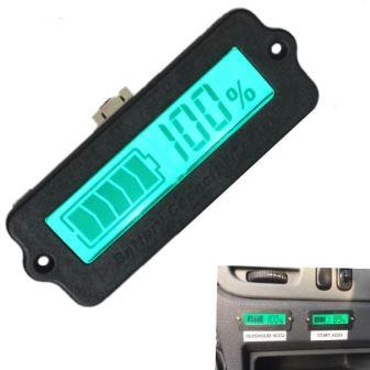 Индикатор заряда для свинцовых АКБ