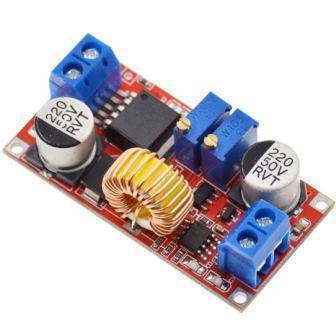 Понижающий преобразователь вх. 4-38V, вых. 1,25-36V ток 5А, регулировка тока и напряжения