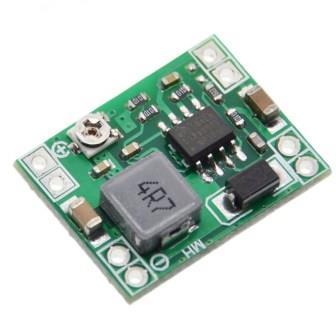 Понижающий преобразователь LM2596 вх. 4,5-28V, вых. 0,8-20V ток 3А