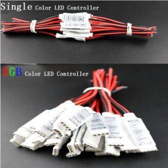 Светодиодный диммер для одноцветных и RGB  лент