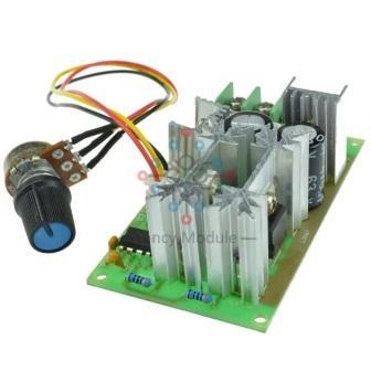 ШИМ контроллер 10 - 60 В 20A 1200 Вт