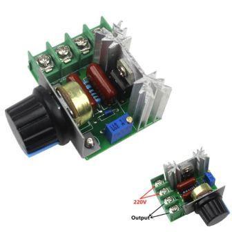 ШИМ контроллер 220 В 2000 Вт