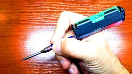 Аккумуляторный паяльник из ручки