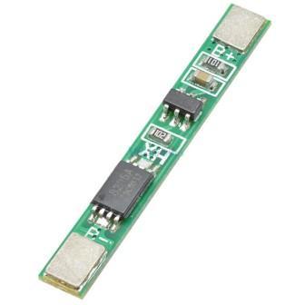 Плата защиты для 1 аккумулятора BMS 1S 3,7В 2,5А