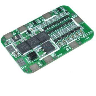 Плата защиты для 3 аккумуляторов BMS 6S 25,2В 15А