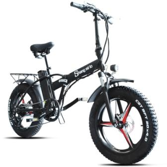 Электровелосипед Ebike 48В 500Вт